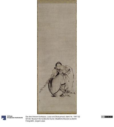 Die drei Weisen Konfuzius, Laozi und Shakyamuni