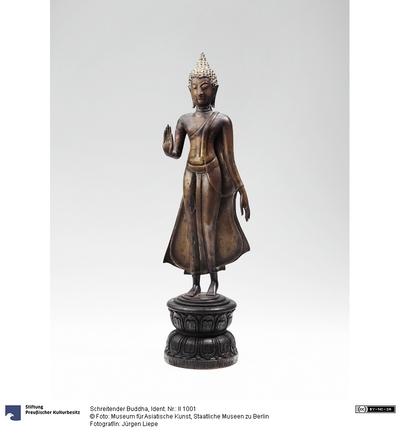 Schreitender Buddha