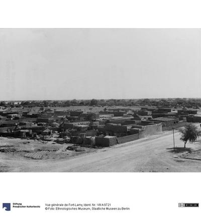 Vue générale de Fort-Lamy