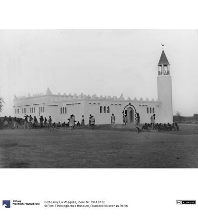 Fort-Lamy. La Mosquée