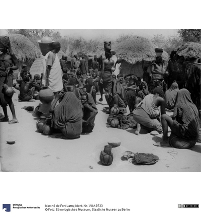 Marché de Fort-Lamy