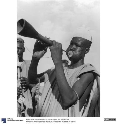 Fort-Lamy, trompettiste du sultan