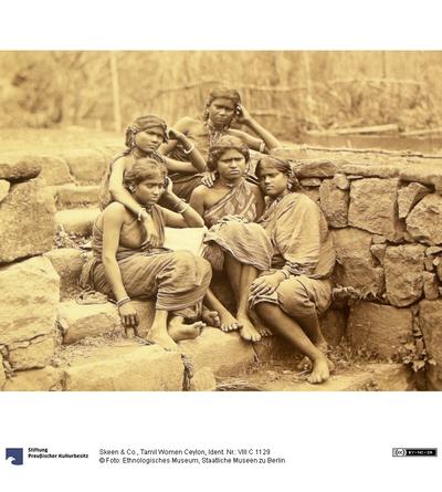 Tamil Women Ceylon
