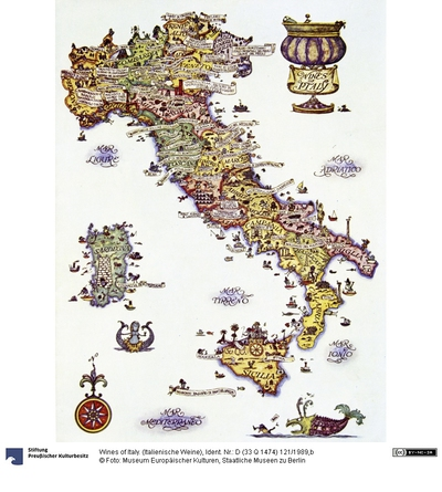 Wines of Italy. (Italienische Weine)