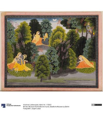 Krishnas Liebesspiel