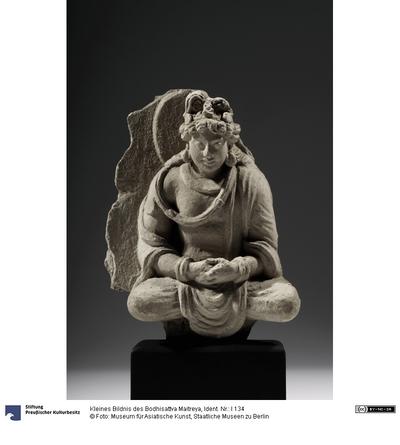 Kleines Bildnis des Bodhisattva Maitreya