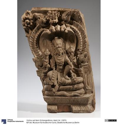 Vishnu auf dem Schlangenthron