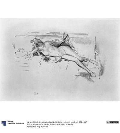 Nude Model reclining