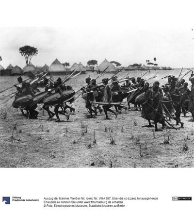 Auszug der Männer. Weißer Nil