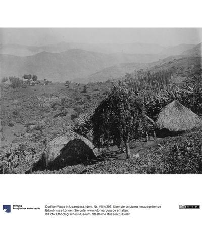 Dorf bei Wuga in Usambara