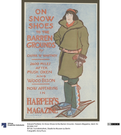 On Snow Shoes to the Barren Grounds. Harpers Magazine