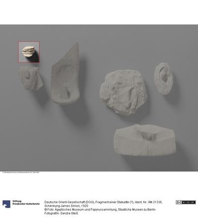 Fragment einer Statuette (?)