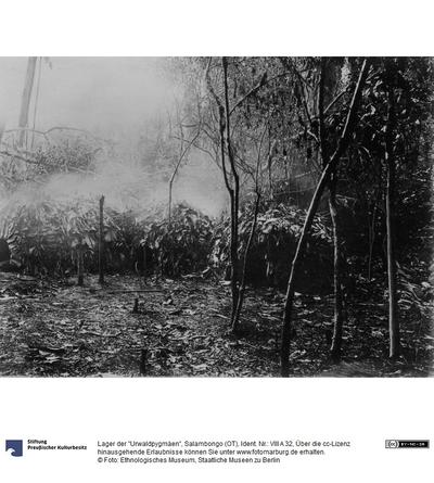 Lager der Urwaldpygmäen, Salambongo (OT)