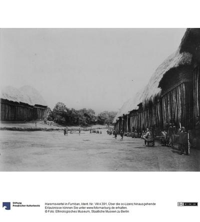 Haremsviertel in Fumban