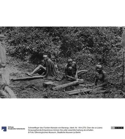 Schwertfeger des Fürsten Mareale von Marangu