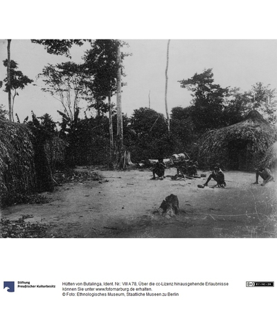 Hütten von Butalinga