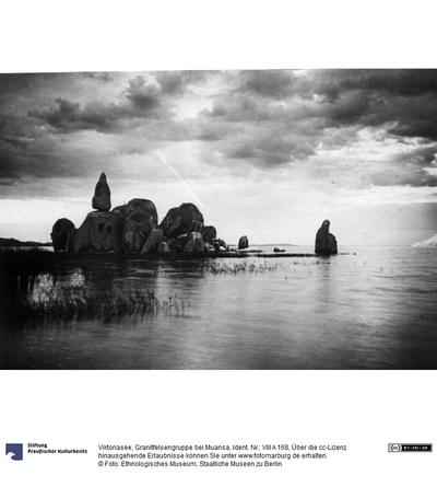 Viktoriasee, Granitfelsengruppe bei Muansa