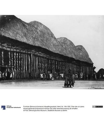 Fumban (Bamum-Kamerun) Häuptlingspalast