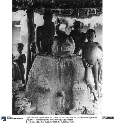 Togo Fetisch in Agome-Seva
