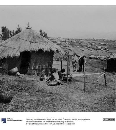 Siedlung bei Addis Abeba