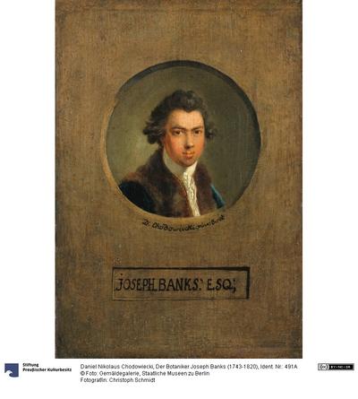 Der Botaniker Joseph Banks (1743-1820)