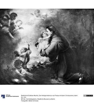 Der Heilige Antonius von Padua mit dem Christuskind