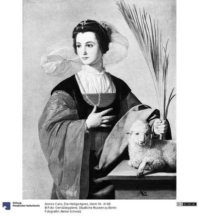 Die Heilige Agnes