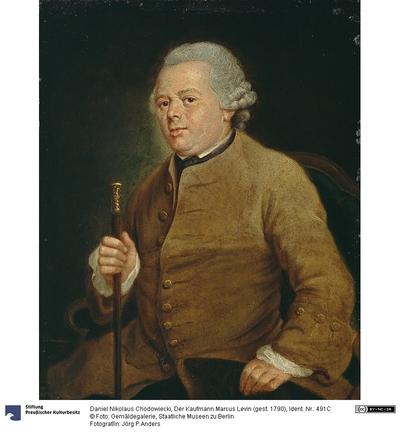 Der Kaufmann Marcus Levin (gest. 1790)