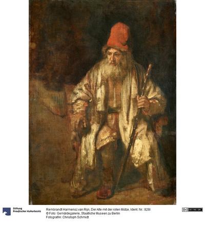 Der Alte mit der roten Mütze