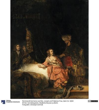 Joseph und die Frau des Potiphar
