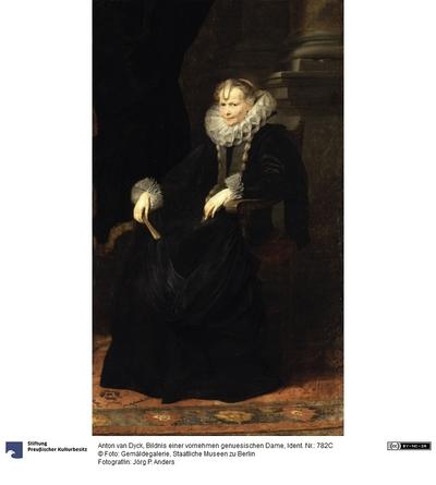 Bildnis einer genuesischen Dame