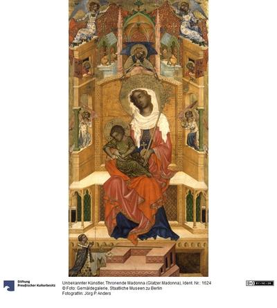 Thronende Maria mit dem Kind (Glatzer Madonna)