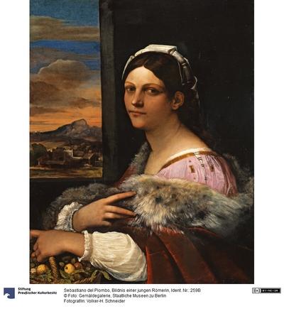 Bildnis einer jungen Römerin