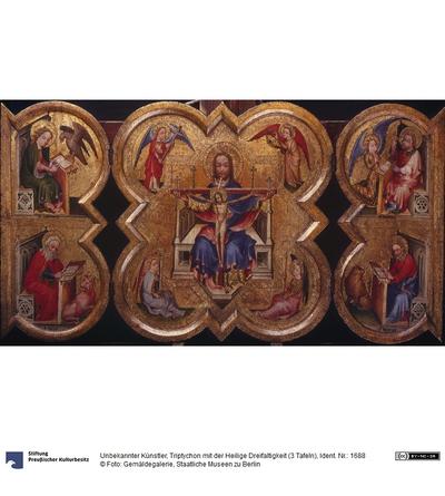 Triptychon mit der Heiligen Dreifaltigkeit
