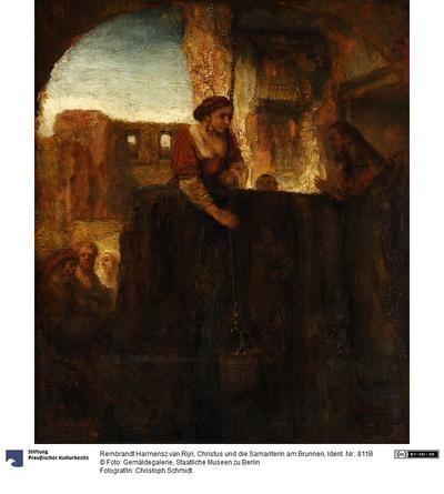 Christus und die Samariterin am Brunnen