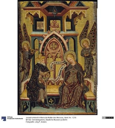 Joseph erkennt in Maria die Mutter des Messias