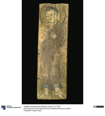 Stehende Buddhafigur