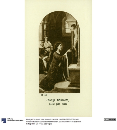 Heilige Elisabeth, bitte für uns!