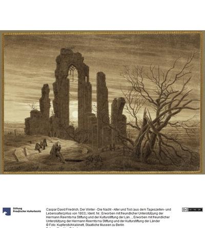 Der Winter - Die Nacht - Alter und Tod (aus dem Tageszeiten- und Lebensalterzyklus von 1803)