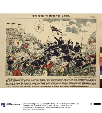 Die Einnahme von Tientsin im Juli 1900 (Der Boxer-Aufstand in China)