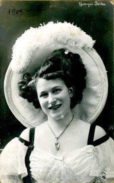 portrét herečky, Janka Hornyai
