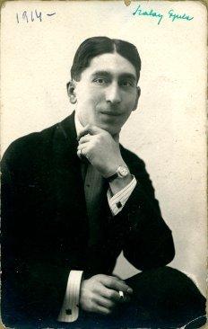 portrét herca, Gyula Szalay