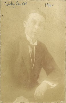 portrét herca, Sándor Teleky