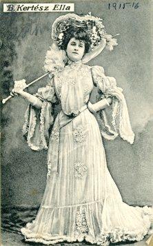 portrét herečky, Ella Kertész