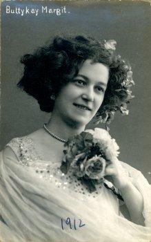 portrét herečky, Margit Buttykay