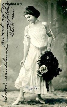 portrét herečky, Irén Varsányi