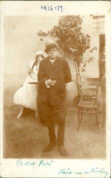 portrét hercov, Farkas Pali