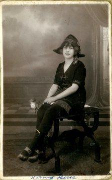 portrét herečky, Harmat Lotte