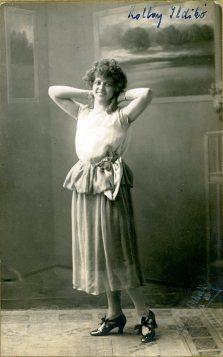 Gyori a Boros, Košice, portrét herečky, Kolbay Ildikó
