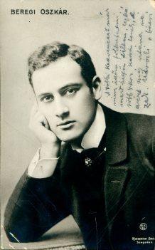 Keglovich Emil, Szegeden, portrét herca, Beregi Oszkár
